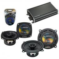 Compatible with Mazda CX-7 2007-2012 Factory Speaker Replacement Harmony R5 R4 & CXA360.4 Amp