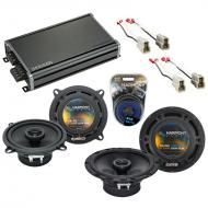 Compatible with Mazda MX6 1986-1989 Factory Speaker Replacement Harmony R5 R65 & CXA360.4 Amp