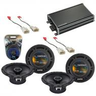 Compatible with Pontiac Vibe 2003-2008 Factory Speaker Replacement Harmony (2) R65 & CXA360.4...