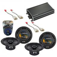 Compatible with Scion tC 2005-2010 Factory Speaker Replacement Harmony (2) R65 & CXA360.4 Amp
