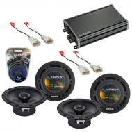 Compatible with Scion tC 2014-2014 Factory Speaker Replacement Harmony (2) R65 & CXA360.4 Amp