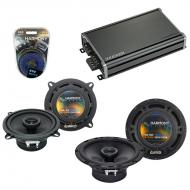 Compatible with Toyota Matrix 2009-2013 Factory Speaker Replacement Harmony R65 R5 & CXA360.4...