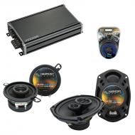 Compatible with Chrysler Fifth Avenue 79-83 Speaker Replacement Harmony R35 R69 & CXA360.4 Amp
