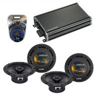 Compatible with Toyota Prius 2004-2009 Factory Speaker Replacement Harmony (2) R65 & CXA360.4...
