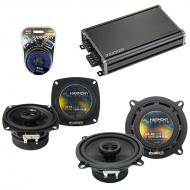 Compatible with Toyota Tercel 1991-1994 Factory Speaker Replacement Harmony R4 R65 & CXA360.4...