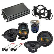 Compatible with Chevy S-10 Truck 2002-2004 OEM Speaker Replacement Harmony R46 R65 & CXA360.4...