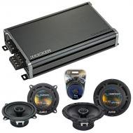 Compatible with Volvo S60 2001-2004 Factory Speaker Replacement Harmony R5 R65 & CXA360.4 Amp