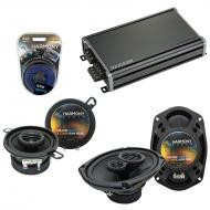 Compatible with Chrysler port 1977-1980 OEM Speaker Replacement Harmony R35 R69 & CXA360.4 Amp