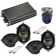 Compatible with Ford Thunderbird 1989-1997 OEM Speaker Replacement Harmony (2) R68 & CXA360.4...