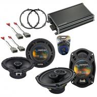 Compatible with Honda Accord 1998-2002 OEM Speaker Replacement Harmony R65 R69 & CXA360.4 Amp