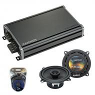 Compatible with Honda Civic 1986-1991 OEM Speaker Replacement Harmony R5 & CXA360.4 Amplifier