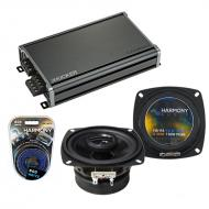 Compatible with Isuzu Truck 1986-1987 OEM Speaker Replacement Harmony R4 & CXA360.4 Amplifier