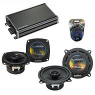 Compatible with Audi 80/90 Series 1988-1996 OEM Speaker Replacement Harmony R4 R65 & CXA360.4...