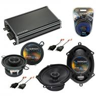Compatible with Plymouth Reliant 1981-1989 OEM Speaker Replacement Harmony R68 R35 & CXA360.4...