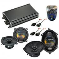 Compatible with Plymouth Sundance 1987-1994 OEM Speaker Replacement Harmony R68 R5 & CXA360.4...