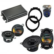Compatible with Pontiac Solstice 2006-2009 OEM Speaker Replacement Harmony R46 R35 & CXA360.4...