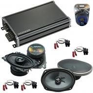Compatible with Chevy Impala SS 1994-1996 Speakers Replacement Harmony C46 C69 & CXA360.4 Amp