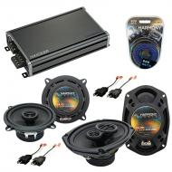 Compatible with Dodge Ram Charger 1984-1993 Speaker Replacement Harmony R69 R5 & CXA360.4 Amp