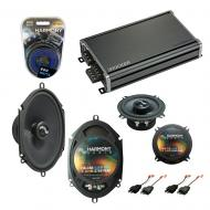 Compatible with Dodge Shadow 1987-1995 Factory Speakers Replacement Harmony C5 C68 & CXA360.4