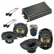 Compatible with Chevy Monte Carlo 1995-1999 OEM Speaker Replacement Harmony R5 R69 & CXA360.4...