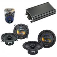 Compatible with Kia Rio/Rio 5 2001-2011 Speaker Replacement Harmony R65 R5 & CXA360.4 Amp
