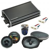 Compatible with Nissan Frontier 2005-2015 Speakers Replacement Harmony C69 C65 & CXA360.4 Amp