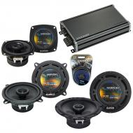 Compatible with Dodge Colt 1985-1986 OEM Speaker Replacement Harmony R5 R4 R65 & CXA360.4 Amp