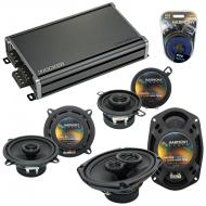 Compatible with Jaguar XK 97-05 OEM Speaker Replacement Harmony R5 R35 R69 & CXA360.4 Amp