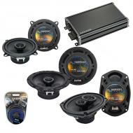 Compatible with Volvo S70 98-00 OEM Speaker Replacement Harmony R65 R5 R69 & CXA360.4 Amp