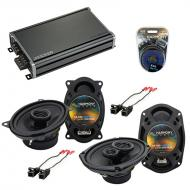 Compatible with Cadillac Coupe DeVille 88-89 OEM Speaker Replacement Harmony Speakers & CXA36...