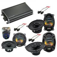 Compatible with Cadillac Coupe DeVille 90-93 OEM Speaker Replacement Harmony Speakers & CXA36...