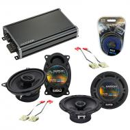 Compatible with Oldsmobile Bravada 1991-1994 OEM Speaker Replacement Harmony Speakers & CXA36...