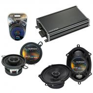Compatible with Plymouth Caravelle 1985-1988 OEM Speaker Replacement Harmony Speakers & CXA36...