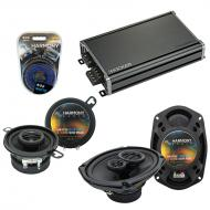 Compatible with Plymouth Gran Fury 1978-1983 OEM Speaker Replacement Harmony Speakers & CXA36...