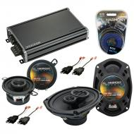 Compatible with Plymouth Gran Fury 1984-1989 OEM Speaker Replacement Harmony Speakers & CXA36...