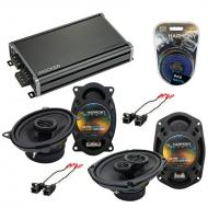 Compatible with Pontiac Bonneville 1988-1993 OEM Speaker Replacement Harmony Speakers & CXA36...