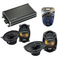 Compatible with Pontiac Bonneville 1994-1999 OEM Speaker Replacement Harmony Speakers & CXA36...