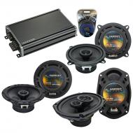 Compatible with Pontiac Bonneville 2000-2005 OEM Speaker Replacement Harmony Speakers & CXA36...