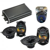 Compatible with Pontiac Parisienne 1983-1986 OEM Speaker Replacement Harmony Speakers & CXA36...