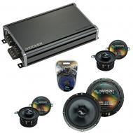 Compatible with BMW Z4 2003-2008 Factory Speakers Replacement Harmony C65 C35 & CXA360.4 Amp