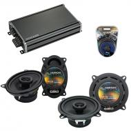 Compatible with BMW 7 Series 1977-1989 Factory Speaker Replacement Harmony R46 R5 & CXA360.4 Amp