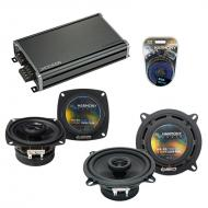 Compatible with Buick Reatta 1990-1991 Factory Speaker Replacement Harmony R4 R65 & CXA360.4 Amp