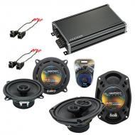 Compatible with Chevy Lumina 1995-2001 Factory Speaker Replacement Harmony R5 R69 & CXA360.4 Amp