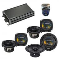 Compatible with Chevy SSR 2003-2006 Factory Speaker Replacement Harmony R65 (2)R4 & CXA360.4 Amp