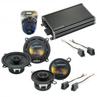 Compatible with Dodge Raider 1987-1989 Factory Speaker Replacement Harmony R5 R35 & CXA360.4 Amp