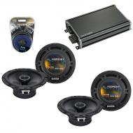 Compatible with Nissan Titan 2004-2007 Factory Speaker Replacement Harmony (2) R65 & CXA360.4