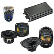 Compatible with Eagle Summit 1993-1995 Factory Speaker Replacement Harmony R4 R69 & CXA360.4 Amp