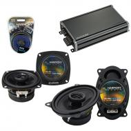 Compatible with Fiat X19 1985-1988 Factory Speaker Replacement Harmony R4 R46 & CXA360.4 Amp