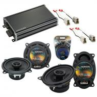 Compatible with Ford Festiva 1988-1993 Factory Speaker Replacement Harmony R46 R5 & CXA360.4 Amp