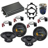 Compatible with GMC Yukon XL 2001-2002 Factory Speaker Replacement Harmony R5 R65 & CXA360.4 Amp